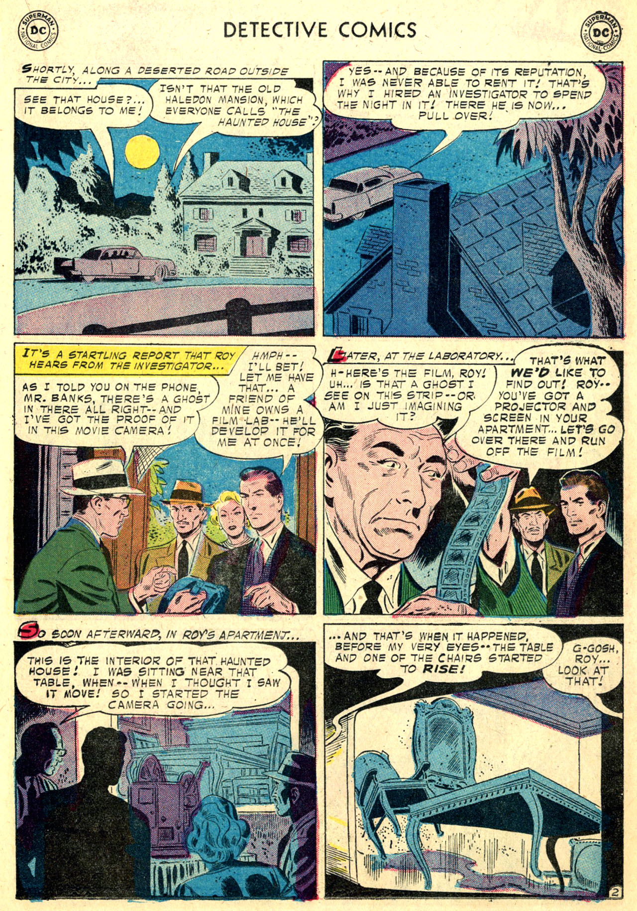 Read online Detective Comics (1937) comic -  Issue #249 - 19