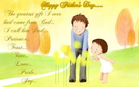 Father's day image from daughter