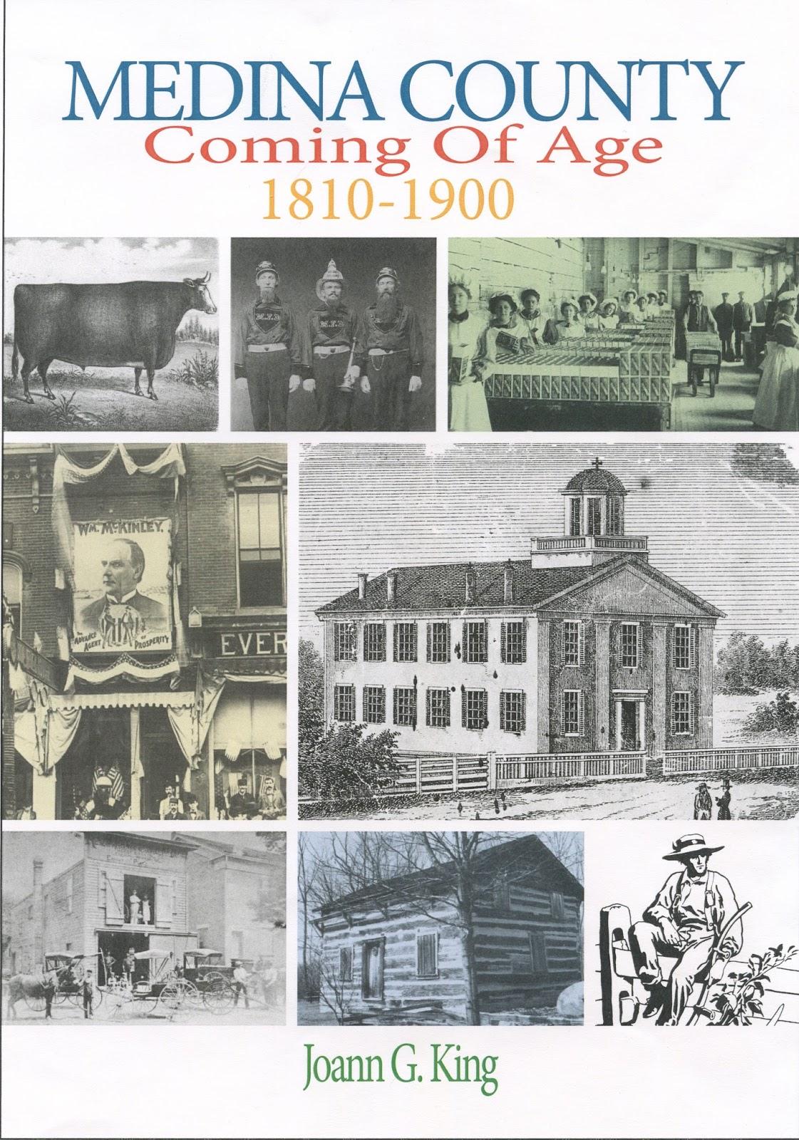 Mcdl Genealogy New Medina County History Book