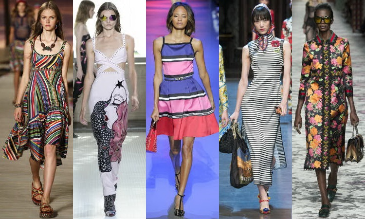 Spring Summer 2016 Women's Dresses Fashion Trends