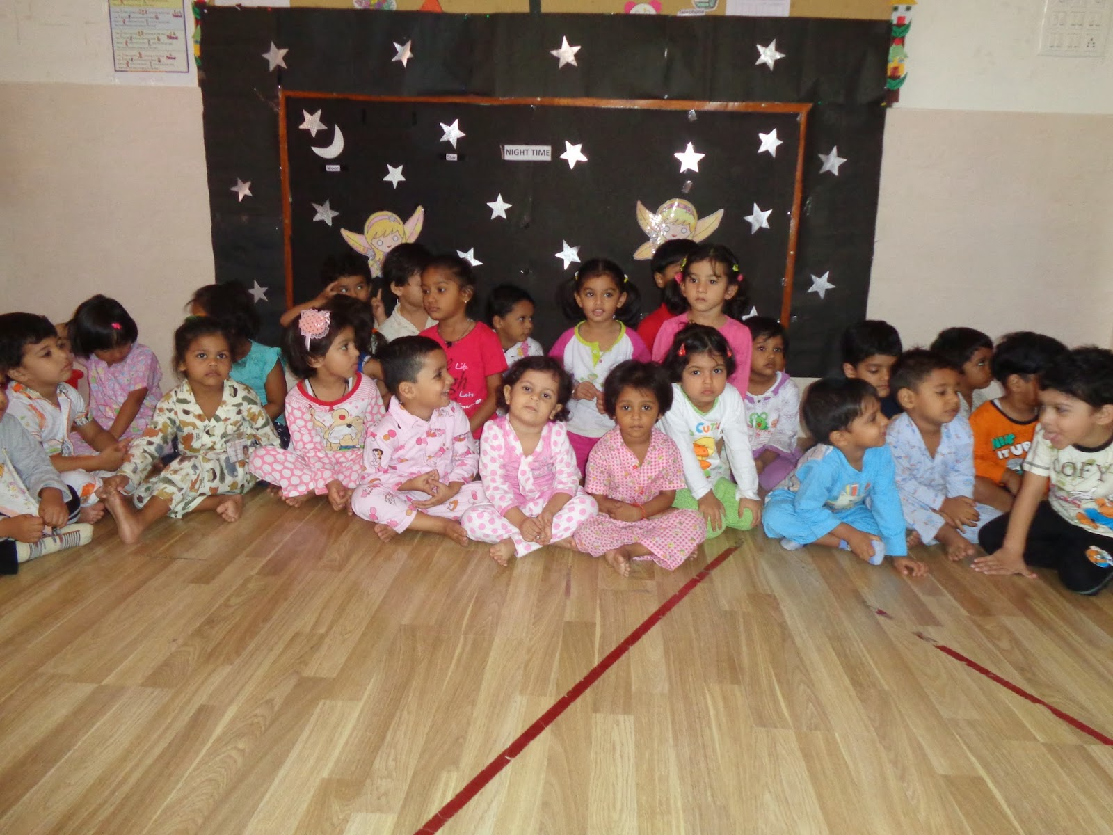 On The Top Of The World Pajama Party Nursery Wis