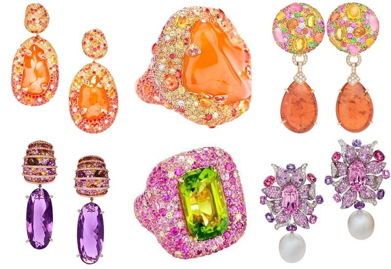 Margot McKinney jewelry with precious stones and gems