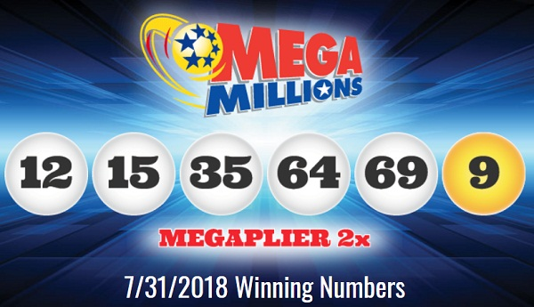 Mega Millions Winning Numbers July 31 2018