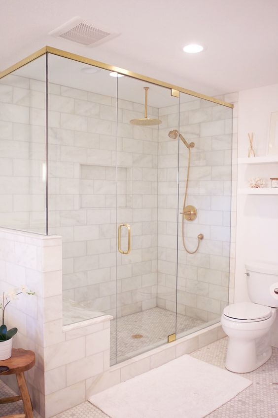 Marble Shower Tiles! Home Decor