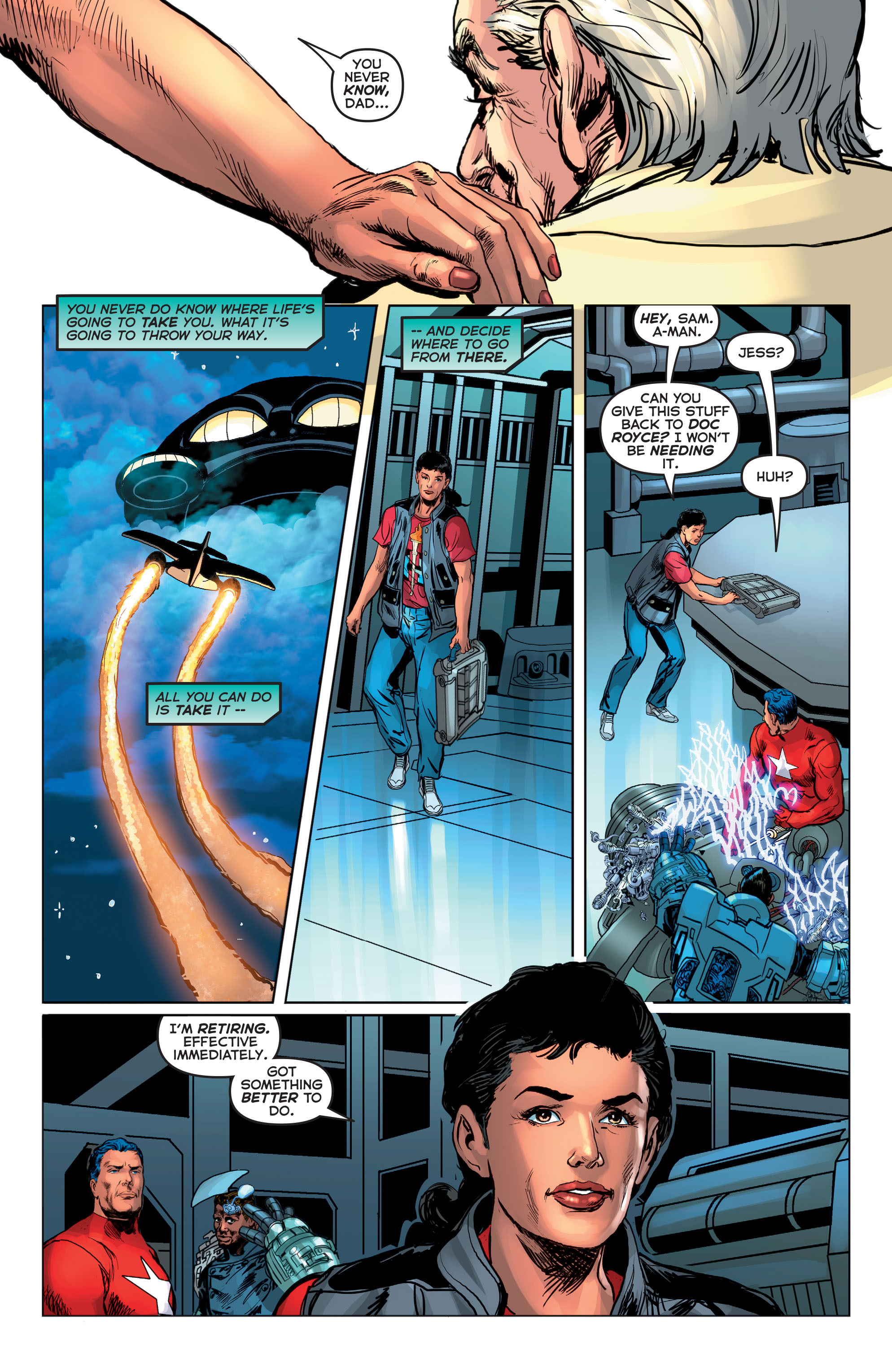 Read online Astro City comic -  Issue #21 - 20