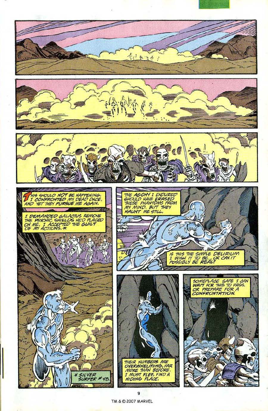 Read online Silver Surfer (1987) comic -  Issue #63 - 11