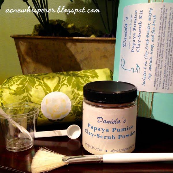Daniela's Papaya-Pumice Clay-Scrub Kit
