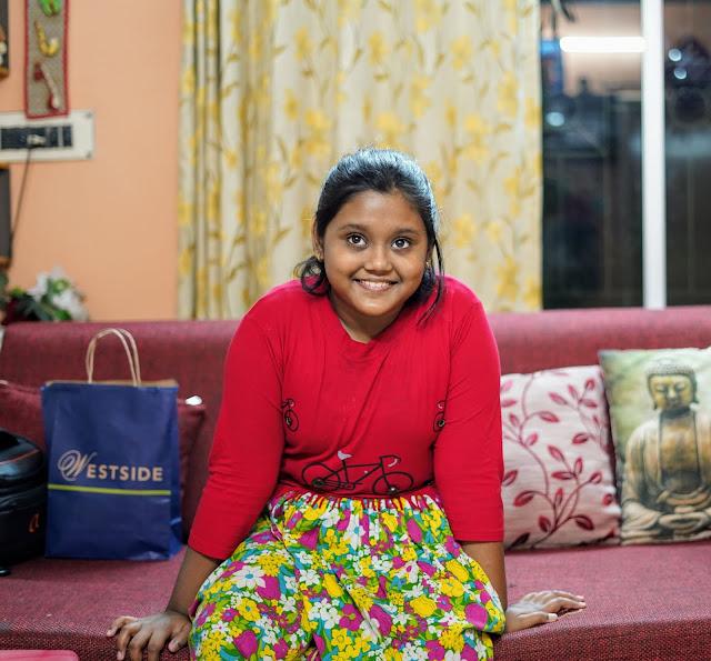 Sourajit Saha's Niece Bristi