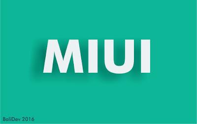 MIUI by BaiDev 2016