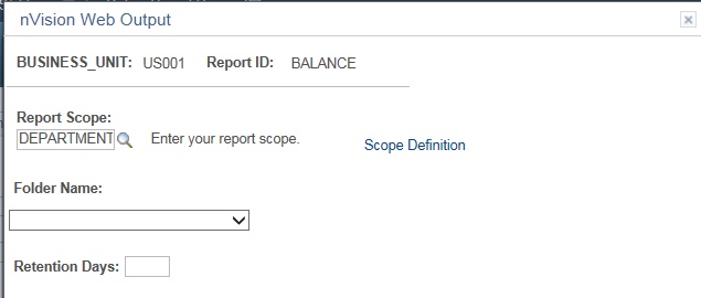 PeopleSoft nVision Report Scope in PeopleSoft – Nvision Peoplesoft