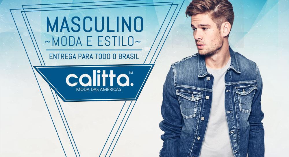 Compre roupas masculinas nas lojas online Calitta.com pagando pouco ... 606f629a9a134