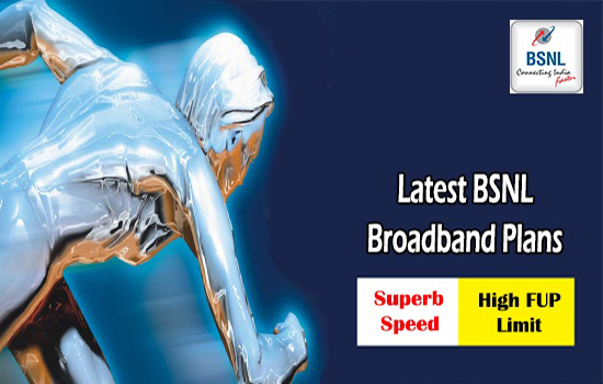 BSNL upgraded bandwidth of Unlimited Broadband plans - BBG ULD 545, BBG Combo ULD 675 & BBG Rural Combo ULD 650 in all the circles from 1st October 2016