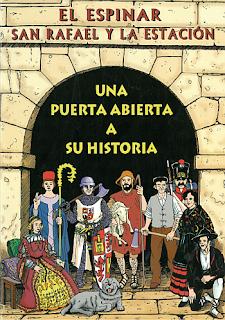 Cómic histórico sobre El Espinar