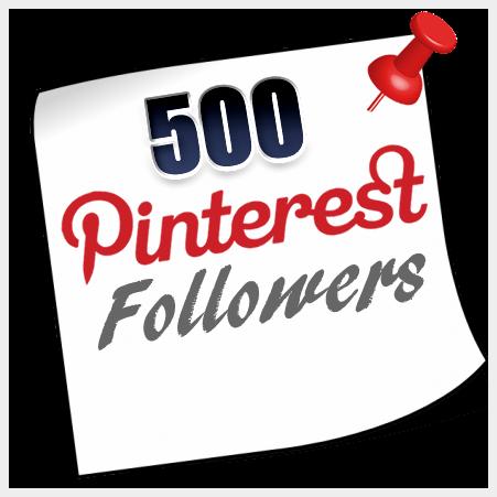 Buy 500 Pinterest Followers