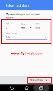 Cara Membuat Akun Gmail Tanpa No HP Langkah 5