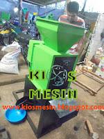 mesin pengupas atau pemisah kulit luar kacang tanah