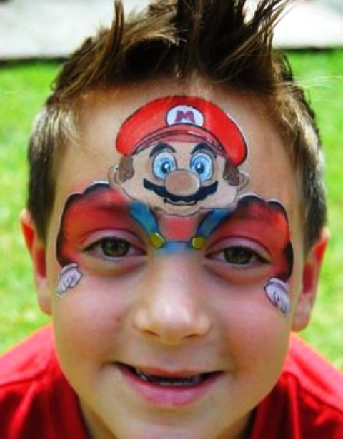 Cool Face Paint Designs