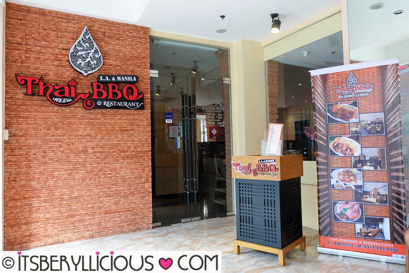 Located at The Fort Entertainment Complex in BGC Thai BBQ opened its doors last November and has recently been awarded as Thai Select for authentic Thai ... & Thai Original BBQ u0026 Restaurant L.A. to Manila: Family-Style House ...