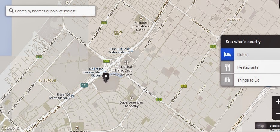 Mall of the Emirates Dubai Location Attractions Map,Location Attractions Map of Mall of the Emirates Dubai,Mall of the Emirates Dubai accommodation destinations hotels map reviews photos pictures