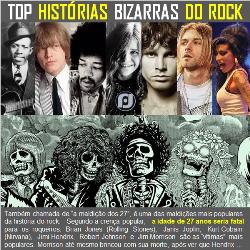 Histórias bizarras do Rock