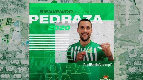 Oficial: Betis, llega cedido Pedraza