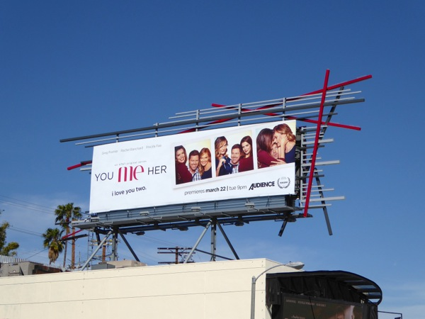 You Me Her season 1 billboard