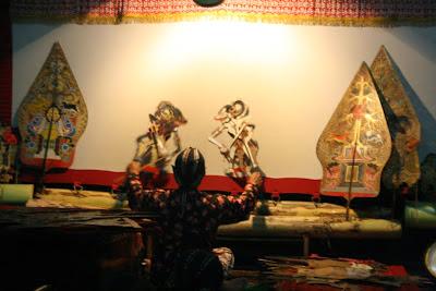 Pertunjukan Wayang Jawa
