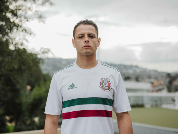 40a6f24ee23 Mexico 2018 World Cup Away Kit Released - Footy Headlines