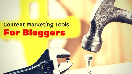 list of content marketing tools free for bloggers