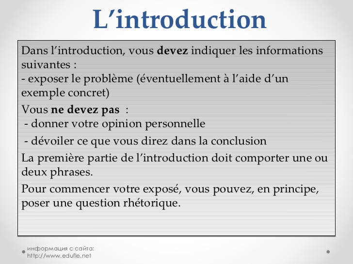 introduction d une dissertation comment faire Writing papers online for money comment rediger la conclusion d une dissertation do survey comment faire ma l'introduction de la mme dissertation.