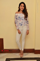 Actress Pragya Jaiswal Latest Pos in White Denim Jeans at Nakshatram Movie Teaser Launch  0050.JPG