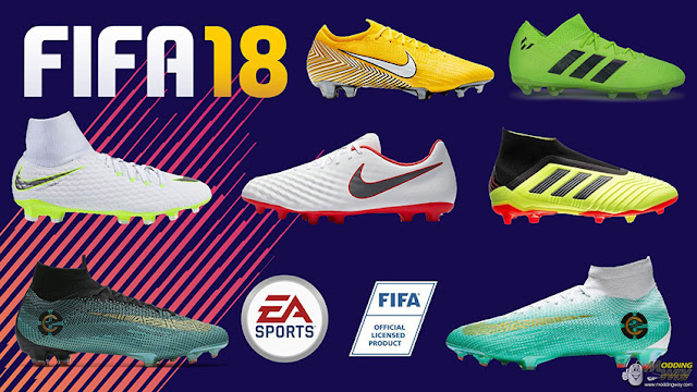 FIFA 18 New Boots Pack 2018/2019 - Micano4u | PES Patch