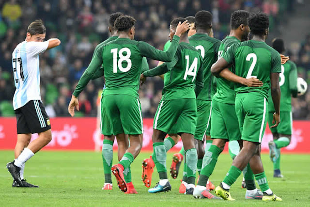 Super Eagles beat Argentina 4-2