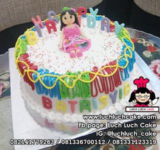 Kue Tart Ulang Tahun Anak Perempuan