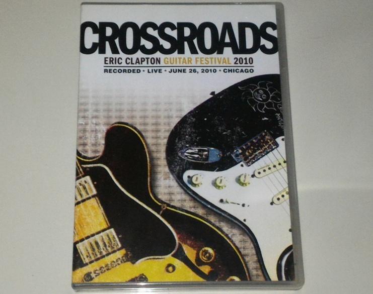 dvd crossroads eric clapton guitar festival 2010 gudang musik shop. Black Bedroom Furniture Sets. Home Design Ideas
