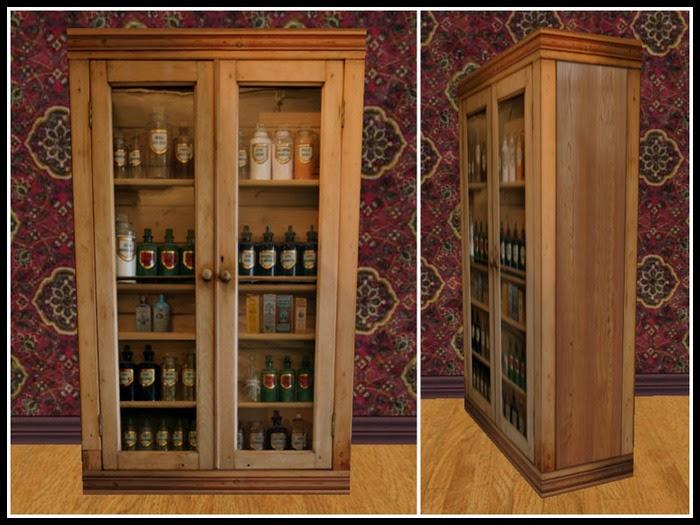David Dangerous Victorian Bathroom Cabinet
