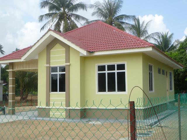 gambar rumah sederhana model kampung