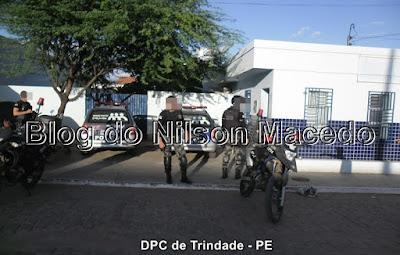 TRINDADE-PE: Bandidos armados assaltam posto de combustível e levam o cofre do estabelecimento