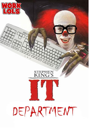 Meme de humor sobre Stephen King