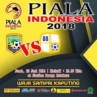 Jadwal Barito Putera Piala Indonesia