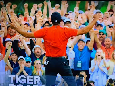 TIGER WOODS: WHAT A MAGICAL COMEBACK.