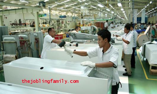 Loker Operator Terbaru PT. Haier Electrical Appliances Indonesia Kawasan EJIP 2019