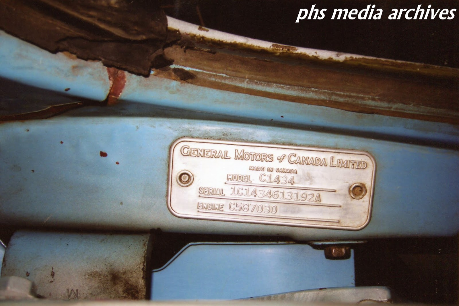 1961 Chevrolet Apache Resto Part A Initial Exam And Tear Down 1960 Studebaker Lark Wiring Diagram Data Plate Reveals Its Exactly What Supposed To Be Half Ton Conventional Cab Fleetside