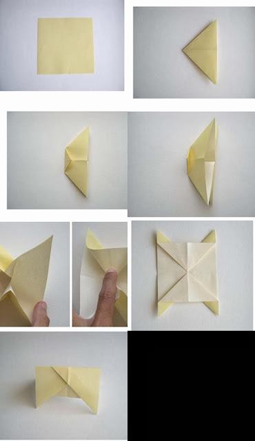 Origami İnek Yapımı Gövde Kısmı Resimli Anlatım