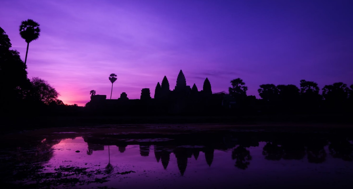 You cant miss the Sunrise and sunset at Angkor Wat