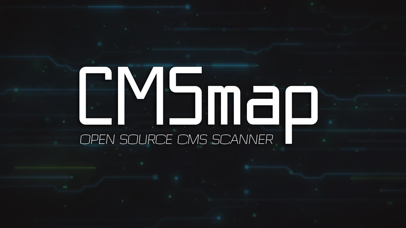 CMSmap - Open Source CMS Scanner