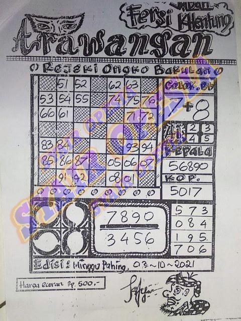 Syair sgp 03 Oktober 2021