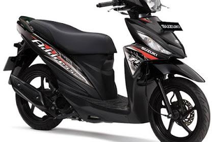Striping Baru Suzuki Address FI 2016