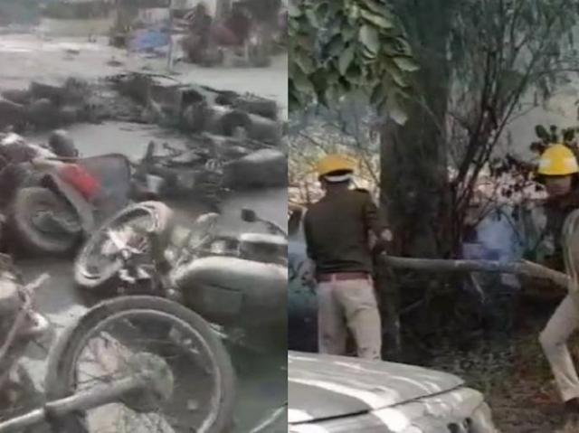 बुलंदशहर : CCTV कैमरे ने खोले Mob lynching के सारे राज | NATIONAL NEWS