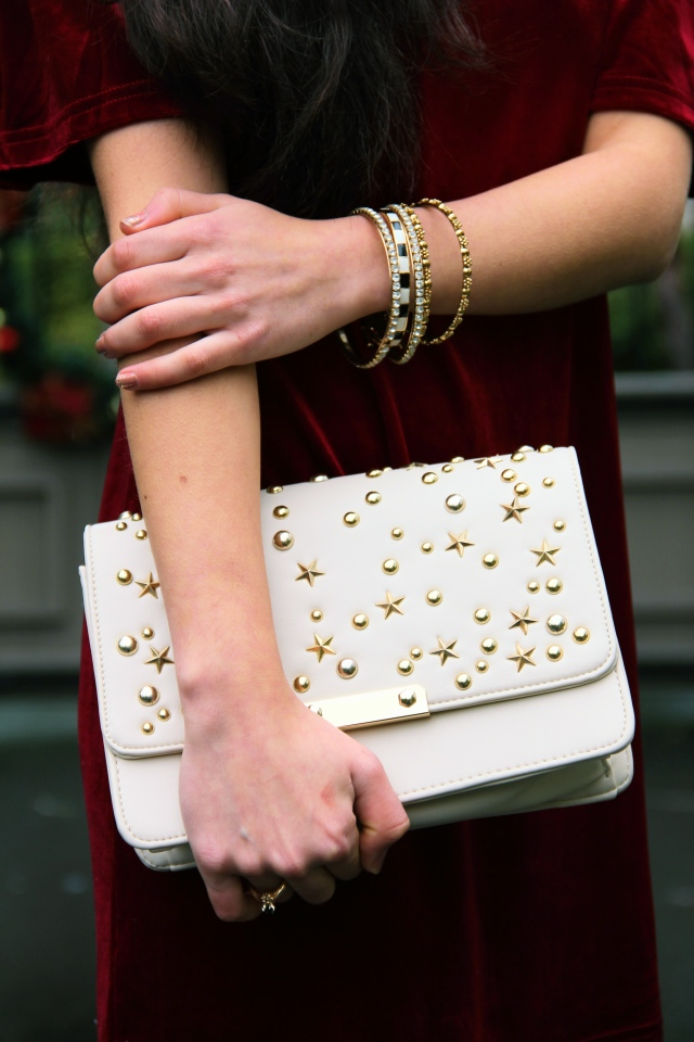 88 vegan handbags allie crossbody convertible bag studded star embellished